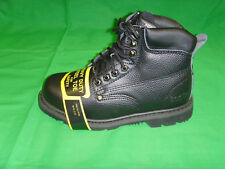 """New Men's Steel Toe Work Boots 6"""" Leather Oil Resistant Work Shoes Sizes:6 -12"""