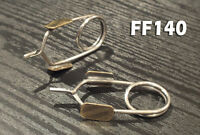 FF195 STONE FLY MAY FLY Brass Wing Burner Set of 9 for NYMPHS