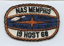 1968 NAS Memphis District Regional All Navy Bowling Championships Patch US Navy