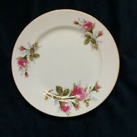 "Aladdin China Moss Rose Salad Plate 7 3/4"" Made in Japan"