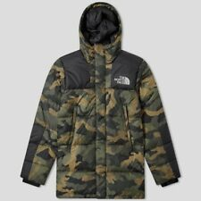 NWT The North Face Deptford Down Jacket Mens Insulated Parka Medium Camo Sample