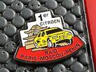 PINS PIN BADGE CAR CITROEN ZX TOTAL CAMEL PARIS MOSCOU PEKIN
