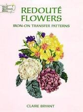 Redoute Flowers Iron-on Transfer Patterns