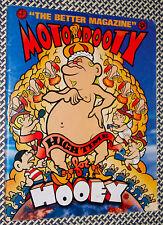 MOTORBOOTY Zine, No. 8, 1995, Guy Maddin, 200 Dead Rockers, Nicodemus, Comix