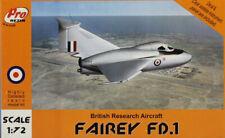PRO Resin 1:72 Fairey FD.1 British Research Aircraft Multimedia Kit #R72-044