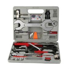46 tlg Fahrrad Werkzeugkoffer Werkzeugtasche Werkzeug Bike Reparatur Box Satz WF