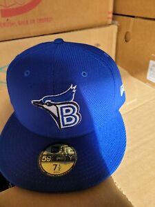 Bluefield Blue Jays MiLB New Era Diamond 59Fifty BP MESH Hat Mens Size 7 1/2