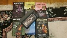 Neil Gaiman Sandman Set, Book 5, 7 to 10 wif Dream Hunters and Endless Nights hc