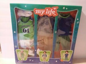 "18"" Boy Doll CLOTHING SET fits My Life As American Girl Athletic PJs Casual Shoe"