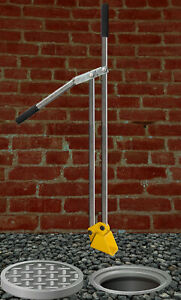 Gully Grab Drain Scoop Heavy Duty for Plumbers etc 1.5mt Reach Small Bucket Unit