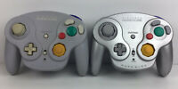 Lot Of 2 Gamecube Wavebirds No Dongle As Is Not Tested DOL-004 Silver Grey