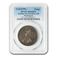 1795 Washington Liberty and Security Penny MS-64 PCGS (Brown)
