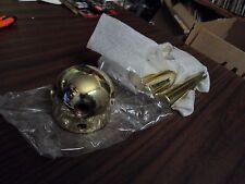 NOS Gun Safe Vault Hub Gold Finish 5 Spoke Safe Handle