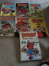 The Dandy Annuals 1991/93/94/95/96/98/99 Seven In Total
