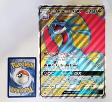 Pokemon -Dragon Majesty - Salamence GX - SM139 - Jumbo Size - Full Art - NM/M