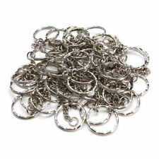 25pcs 25mm Metal Key Ring Chain Split Rings Heavy Duty Keychain Accessories Gift