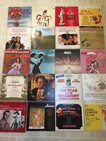 Lot of 20 Vintage  Vinyl Soundtrack LPs VG-VG+