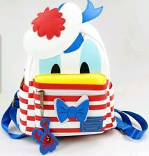BNWT Exclusive Disney Cruise Line DONALD DUCK LOUNGEFLY mini backpack IN UK