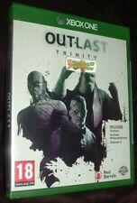 Outlast Trinity Doble Pack Xbox One XB1 Nuevo Sellado Gratis Uk P&p vendedor del Reino Unido