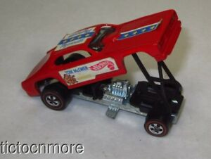 VINTAGE HOT WHEELS REDLINES TOM McEWEN the MONGOOSE FUNNY CAR PLYMOUTH 1969
