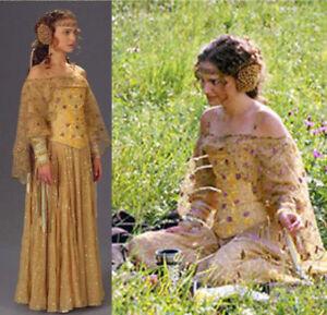 Queen Padme Naberrie Amidala Dress Cosplay Costume Dress