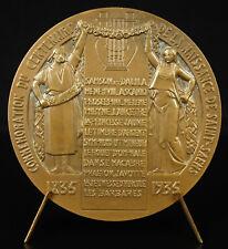 Médaille Camille Saint-Saëns pianiste compositeur composer post-romantique medal