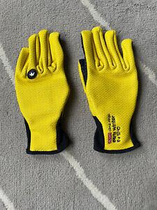 Assos Early Winter Gloves 851 Yellow XXS Cycling Outdoor Sport Biking | bikeZaar