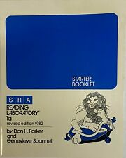 SRA Reading Lab 1A Laboratory Starter Booklet Revised 1982 Edition