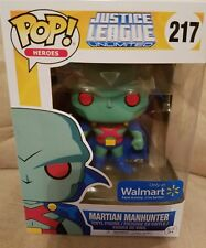 Funko Pop Justice League Unlimited Martian Manhunter 217! New Unopened