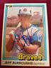 Jeff Burroughs Autograph Signed 1981 Donruss Baseball Card Atlanta Braves