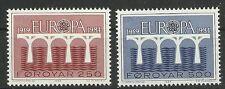 CEPT 1984/ Farör MiNr 97/98 **