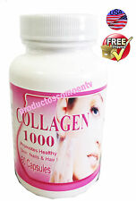 COLLAGEN ALL NATURAL 500 mg SKIN HAIR NAILS COLAGENO,colageina,colagina