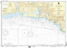NOAA Chart Oahu South Coast Approaches to Pearl Harbor 7th Edition 19369