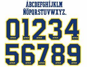 Boca Juniors 2020-2021 Away Football Nameset for shirt Any Name & Number