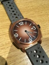 TC-9 Solid Bronze Navy Diver Watch.  Brown Dial.   Seiko Automatic Movement.