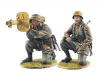 1:35 World War II German Soldiers Model 728 High Quality Resin Kit 2 Figures