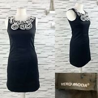 BNWT Vera Moda Black Shift Dress Size 8 Smart Occasion Wedding Party