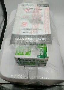 Rival VS112 Seal-A-Meal Vacuum Food Storage Sealer - White - Works Great used 2x