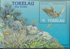 Tokelau block6 (complete issue) unmounted mint / never hinged 1995 marine turtle