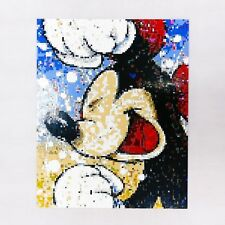 Mickey Picture 8000pcs We Turn your photo into Lego paint hand made ART portrait