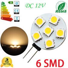2W G4 6 LED 5050 SMD LED PL Lampada Lampadina Leggero Bianco Caldo