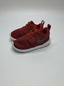New Nike Roshe One Red Toddler Shoes without box 749430-608