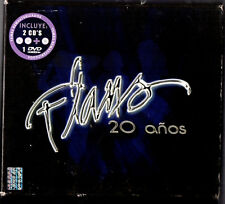 FLANS   20 años  MEXICAN 2 CDs + 1 Dvd set   Univision 2005  HARD TO FIND !