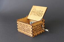 Game of Thrones Engraved Wooden Theme Music Box
