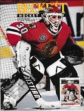 Beckett Hockey Magazine, Issue #9 July 1991 Ed Belfour On Cover