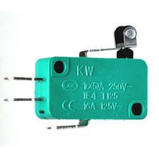 Microschalter EIN/(EIN) 250V/10A 1-polig, mit Rollenhebel Mini-Schalter