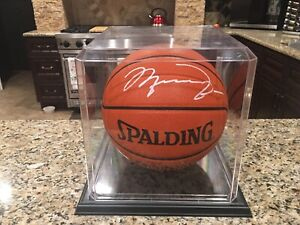 Chicago Bulls Michael Jordan Signed Spalding NBA Official Game Ball Not UDA