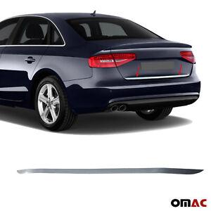 Heckleiste Zierleiste für Audi A4 B8 2008-2012 Limousine Chrom Edelstahl V2A
