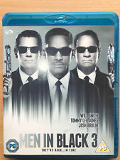 Will Smith Men in Black 3 III 2012 Sci-Fi Comedy Sequel UK Blu-ray