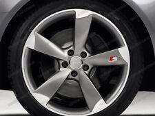 6 x Audi S-line Stickers for Wheels A1 A3 A4 A5 A6 S3 TT Q2 Q3 Q5 S3 S4